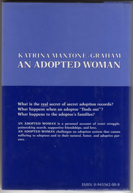 An-Adopted-Woman-by-Katrina-Maxtone-Graham-back-cover