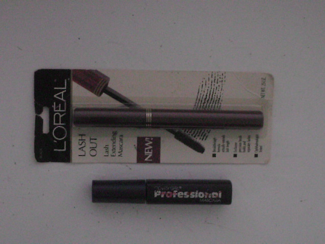 photo-CoverGirl-professional-mascara-and-L'Oreal-Lash-Out-Lash-Extending-Mascara