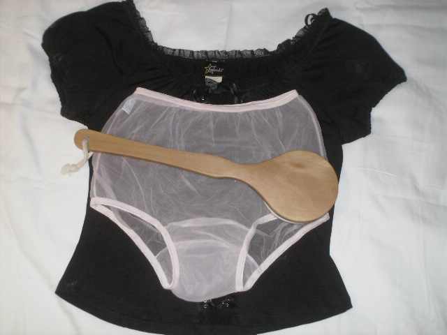 Black-Peasant-Blouse-Wooden-Bath_Brush-Sheer-Pink-Full-Brief-Ladies-Sheer-Panties