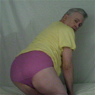 Panty Buns male models Warners Hibiscus Petal Pink satin panties 