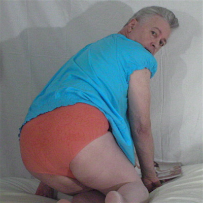 Panty Buns models Rhonda Shear 'Blossom' Petal Pink Briefs
